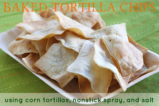 .:* L - Easy Baked Tortilla Chips (25 Baked Alternatives To Potato Chips And French Fries - BuzzFeed Mobile)
