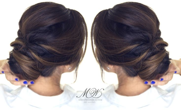 Easy Bun Hairstyles Inspiration Easy Bun Hairstyles For School Everyday Homecoming Wedding  Cute