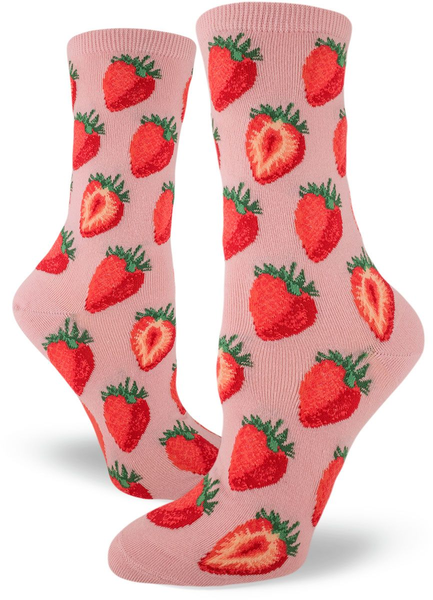 Ladies//Womens Flamingo Patterned Ankle sock on Black with Trees