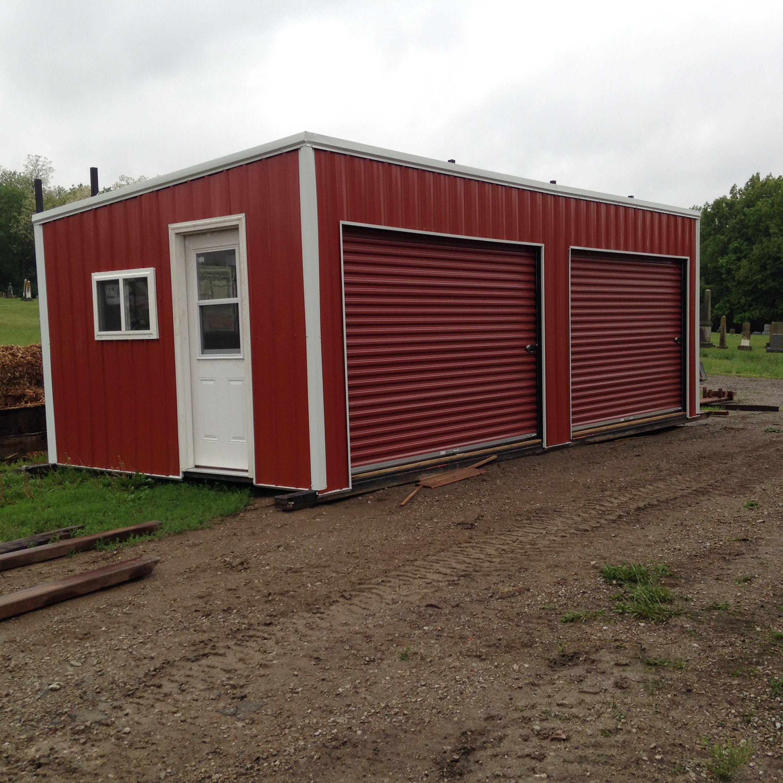 Portable Building Doors & Derksen Portable Buildings Are