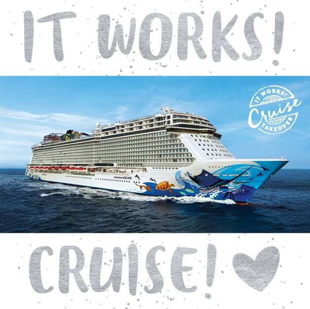 Did your jaw drop when we announced you could earn a FREE cruise?! Well what if we told you that you could win FREE MONEY to spend on that FREE CRUISE?! Go check out our Twitter and make sure you are following us to see how YOU could win a FREE $25 gift card to spend on the #ItWorksCruise! #Giveaway