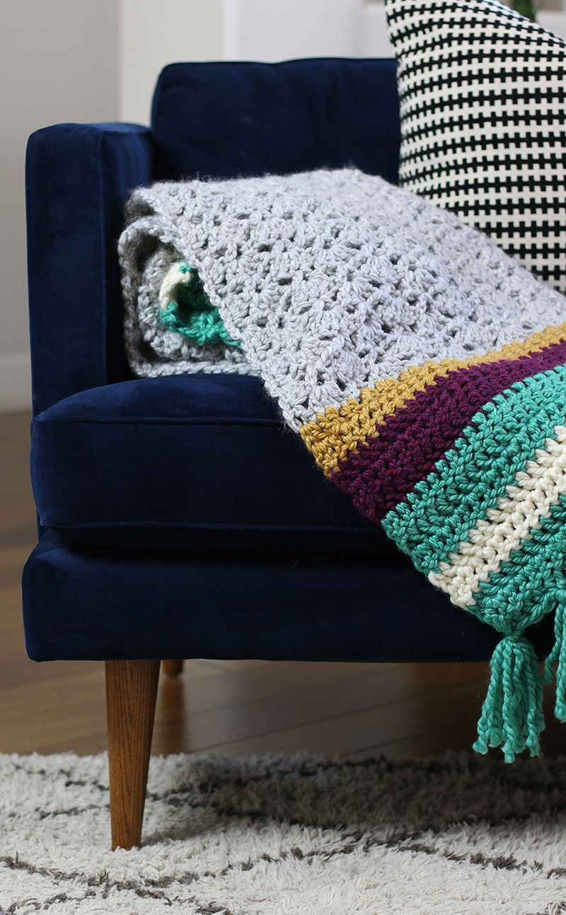 The Hawthorn Afghan: Free Crochet Afghan Pattern | Tejido