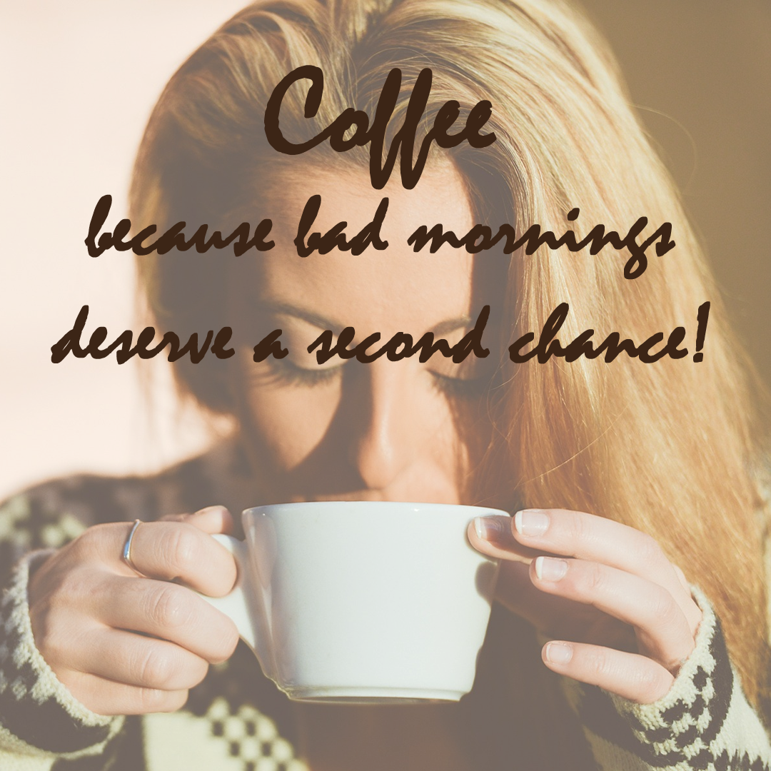 Coffee quote -  Nothing like a coffee to put life in perspective! #coffee #beanhookup #quote #morning #secondchance #experience