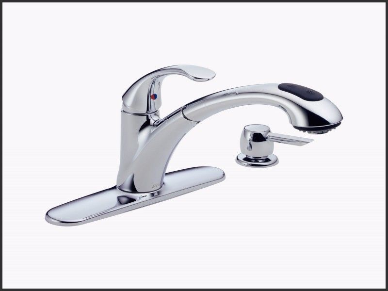 Awesome Delta Single Lever Pull Out Kitchen Faucet Repair