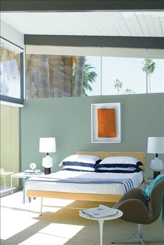 Look At The Paint Color Combination I Created With Benjamin Moore Via Bedroom Wall Del Mar Blue 704 Ceiling Patriotic White 2135 70