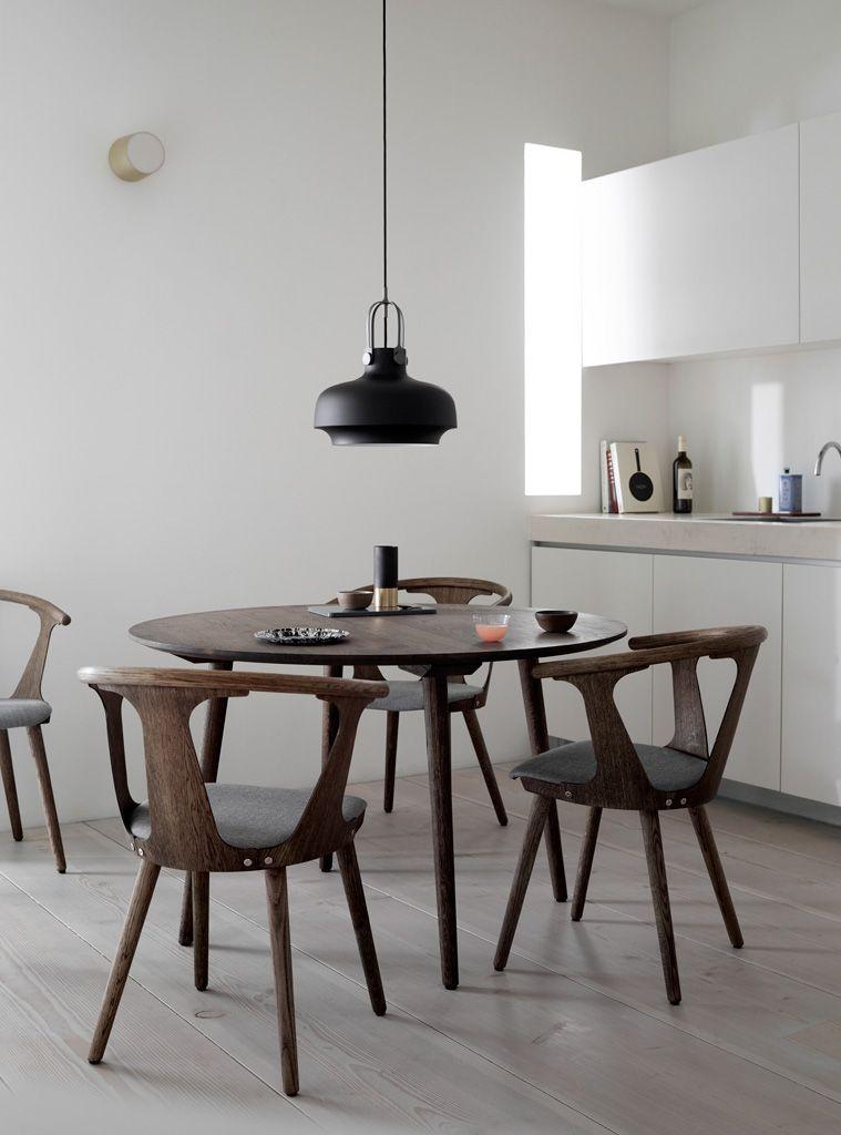 &tradition Copenhagen SC7 Pendelleuchte Esszimmerstühle