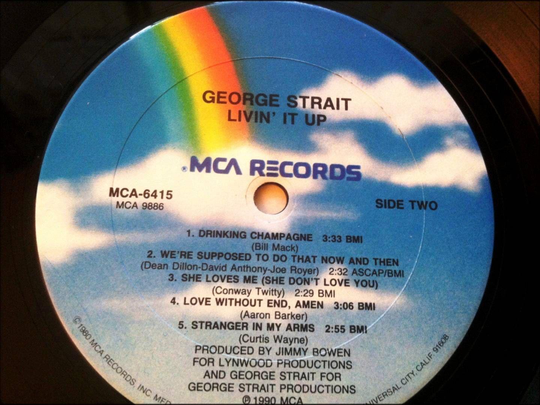 Love Without End, Amen , George Strait , 1990 Vinyl