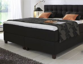boxspringbett luciano. Black Bedroom Furniture Sets. Home Design Ideas