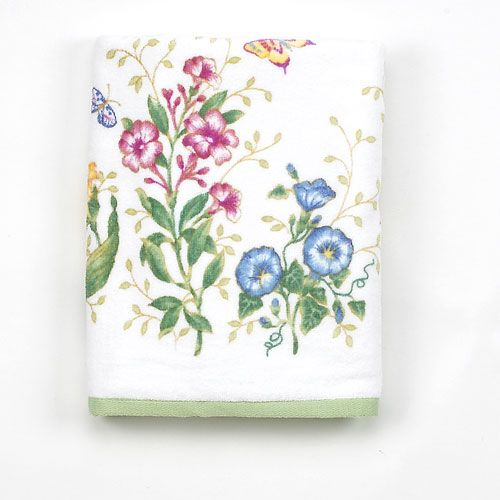 Lenox Butterfly Meadow Print Towel Collection Boscov S Lenox