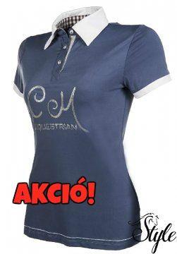 bed68327f5 Cavallino Marino galléros női póló Soft Powder Ár: 16 400 Ft HELYETT 14 750  Ft