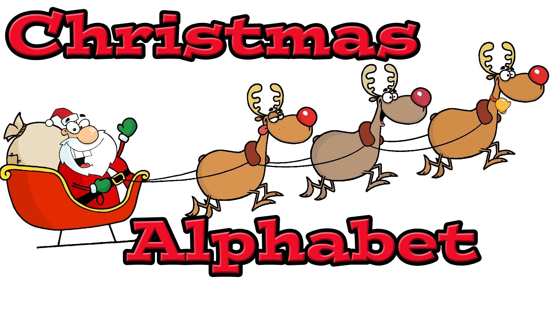 Christmas Alphabet  Learning The Letters With Santa Claus  Kids