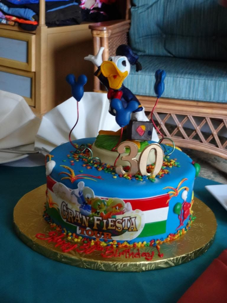 This Is A Donald Duck Gran Fiesta 3 Caballeros Themed Cake That The Yacht Beach Club Bakery Did At Walt Disney World You Can Order Through