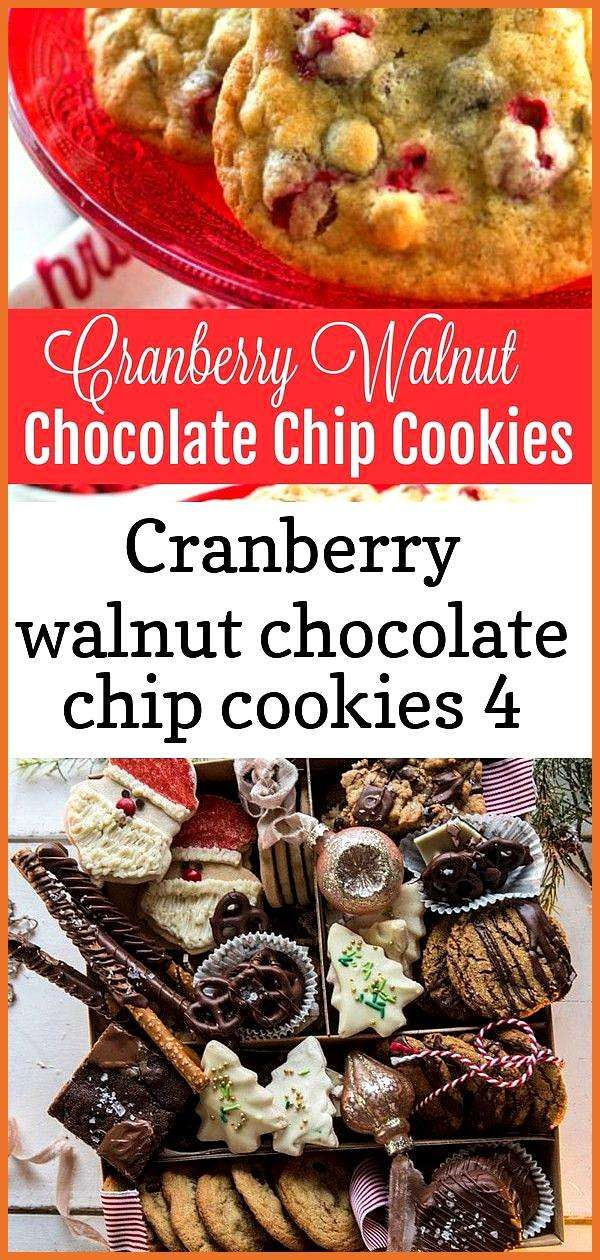 Cranberry walnut chocolate chip cookies 4 Cranberry walnut chocolate chip cookies 4