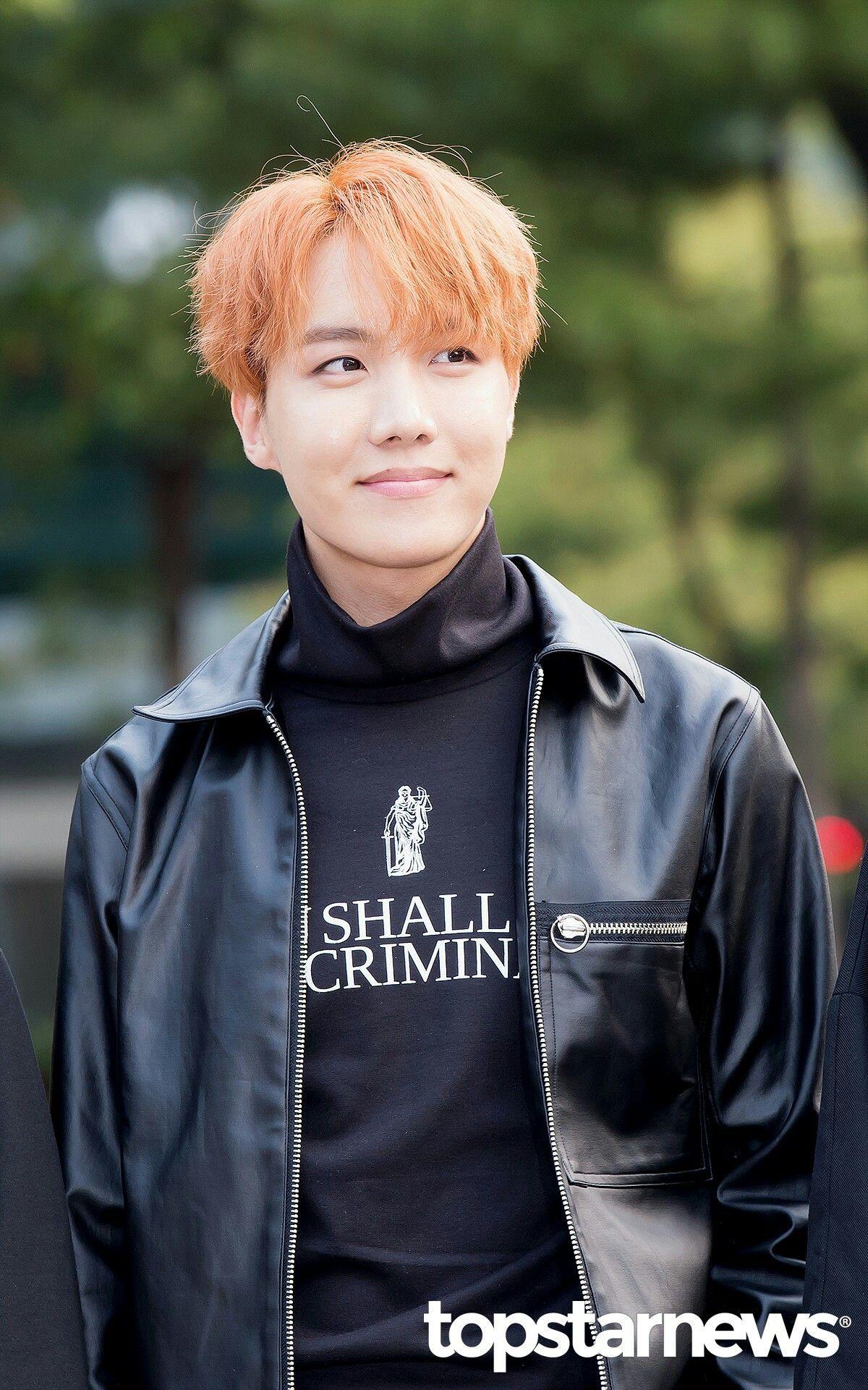 happy 23rd birthday, Jung Hoseok! BTS Arrival at KBS Music