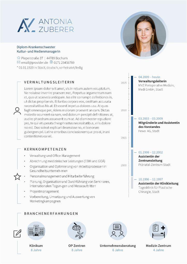 Lebenslauf Innovativ Gestalten in 2020 | Vorlage ...