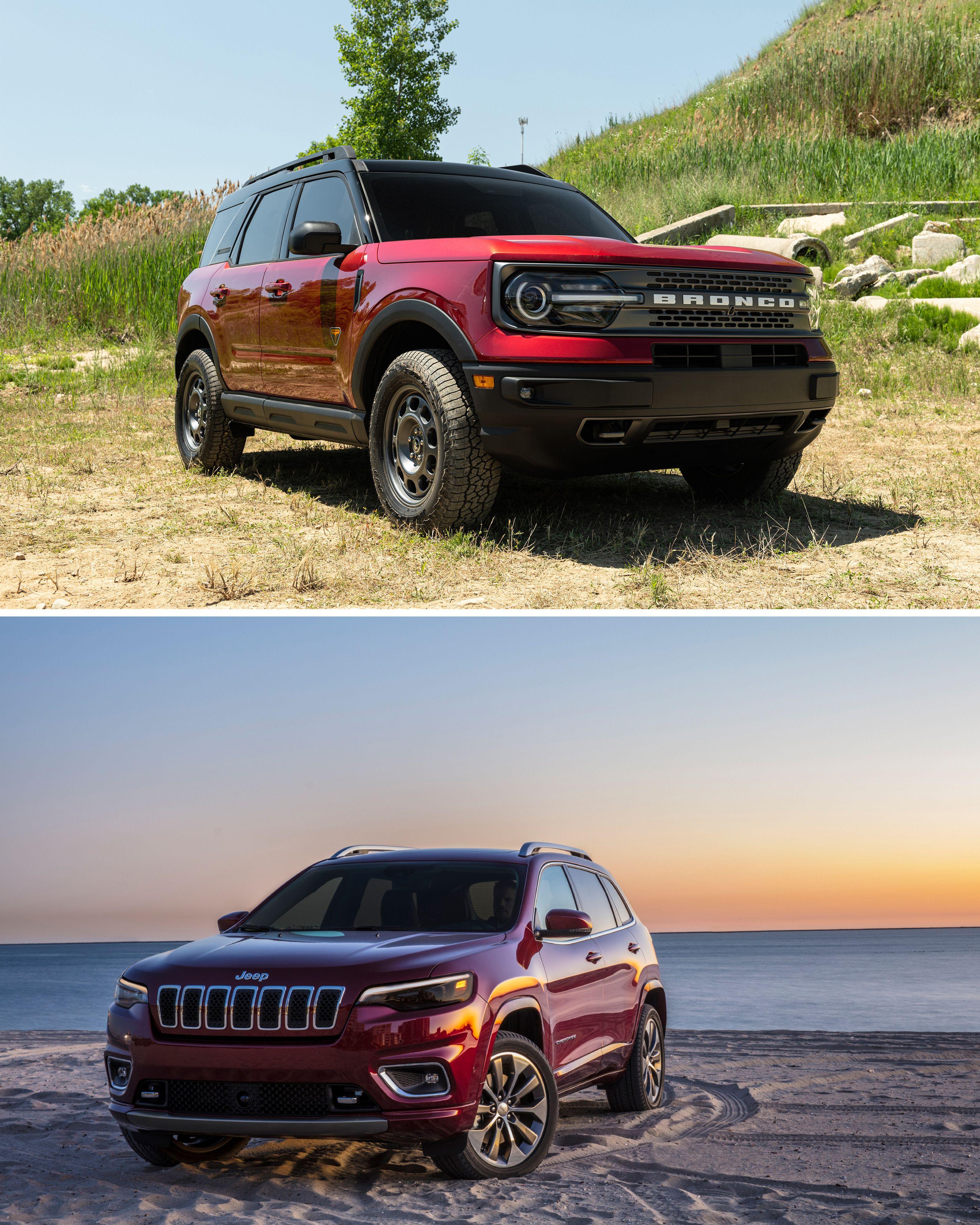 Ford Bronco Sport vs Jeep Cherokee in 2020 Bronco sports