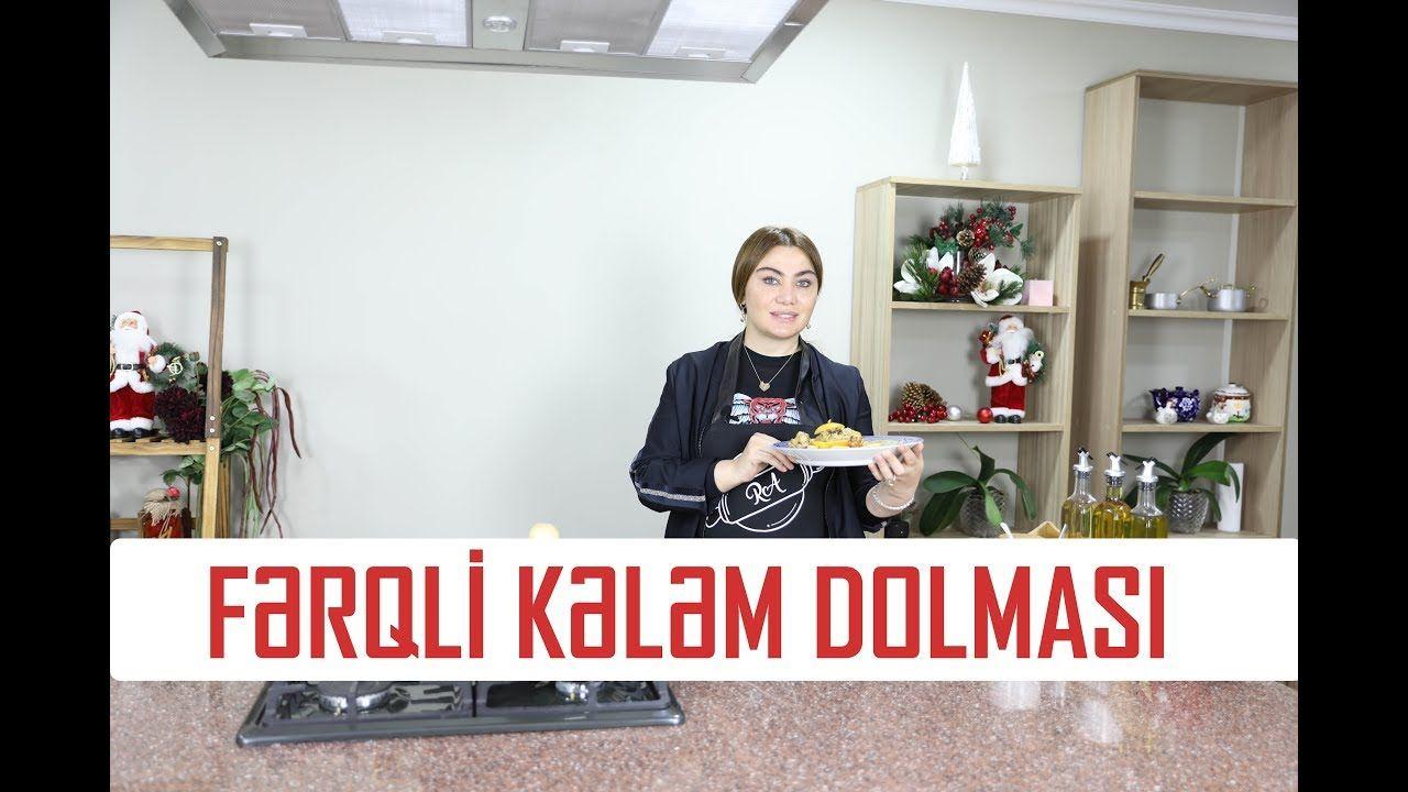 Ruhi əliyeva Fərqli Kələm Dolmasi Vlog33