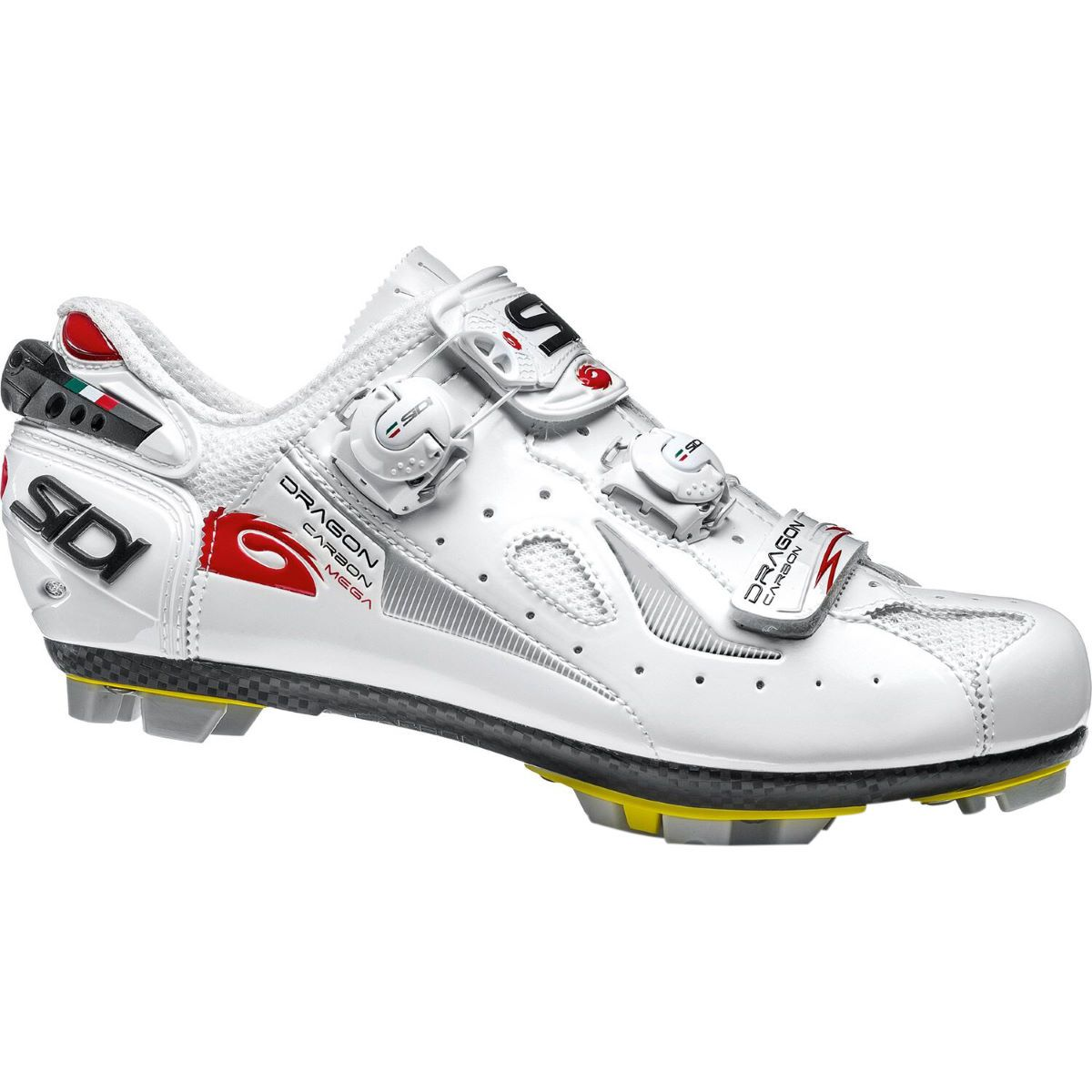 Sidi Dragon 4 Srs Carbon Mtb Shoe Mega Wide Fit Offroad Shoes