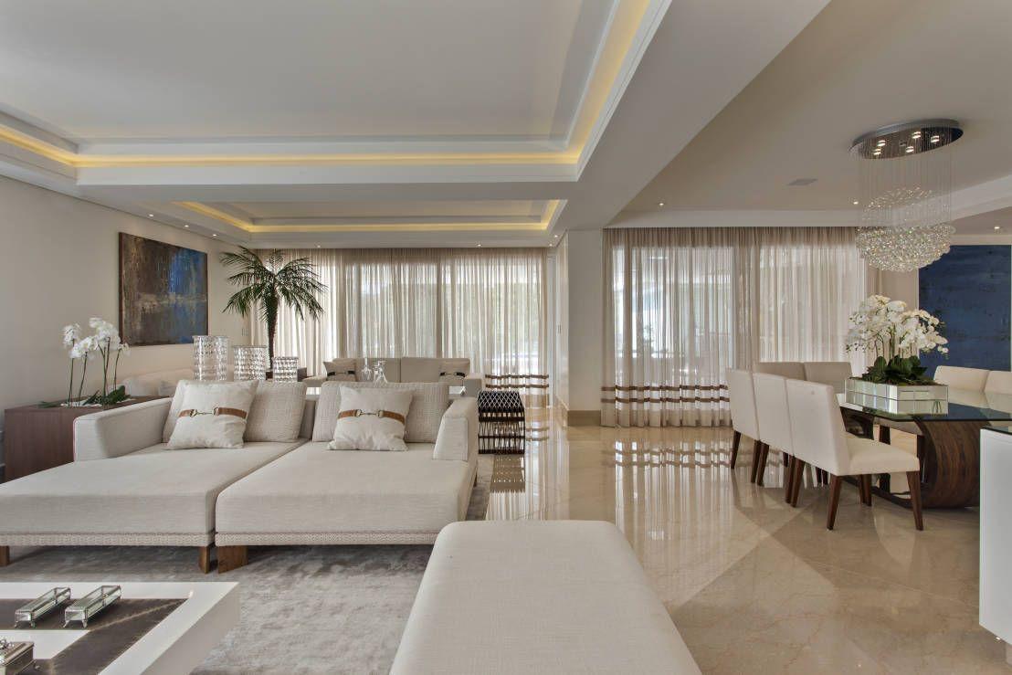 d vida da leitora salas integradas com escada e p direito duplo decora o casa pinterest. Black Bedroom Furniture Sets. Home Design Ideas