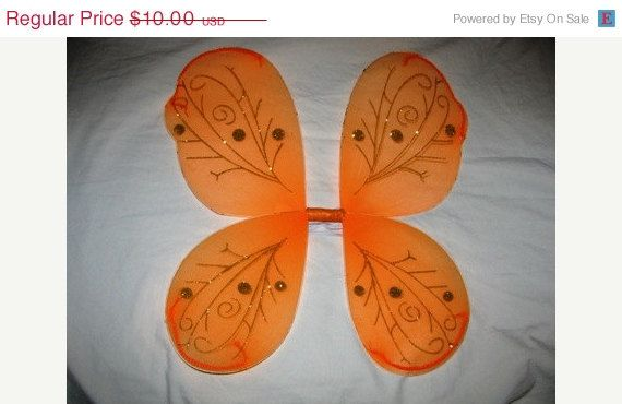 On Sale Now Butterfly Wings Halloween Costume by TheIDconnection