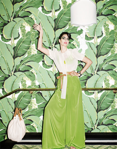 The Beverly Hills Hotel Original Has Been Around For Years And Banana Leaf Print Become Design Staple Thank You Martinique Being A Friend