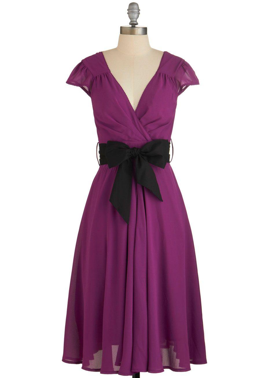 Have the Dance Floor Dress in Mulberry, #ModCloth | mis vestidos ...