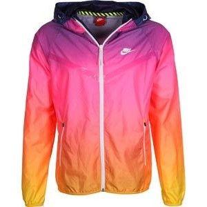 Nike RU Sunset LW windbreaker pink purple orange WeAre 468b2556e