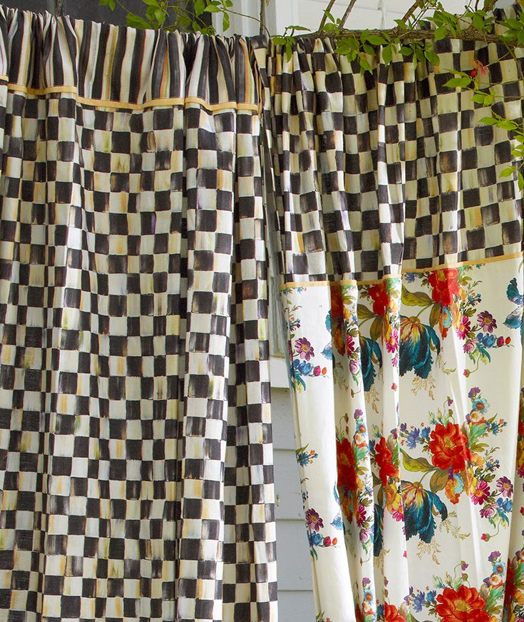The Hiest Shower Curtains French Cottage Style Mackenzie Childs Inspired Guest Bedroom Decor