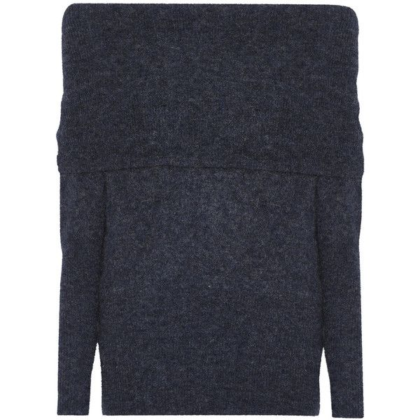 4917c0c74 Acne Studios Daze off-the-shoulder knitted sweater ( 450) ❤ liked ...