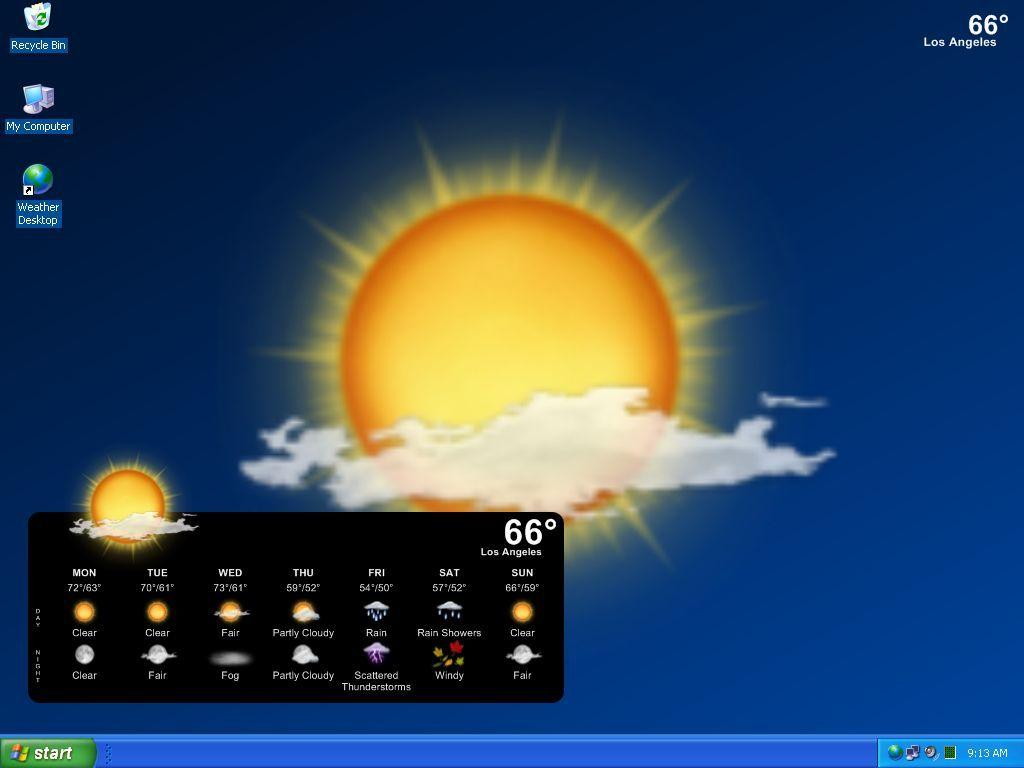 Live Weather Radar Wallpaper