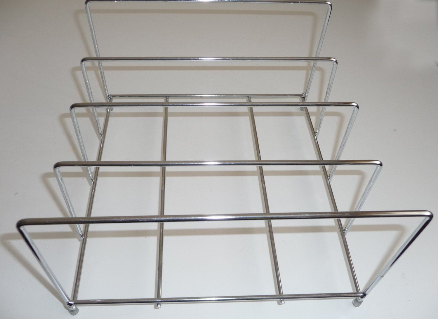 Lakeland Chrome Bakeware Organiser Storage Rack Holds Up To 8 Co
