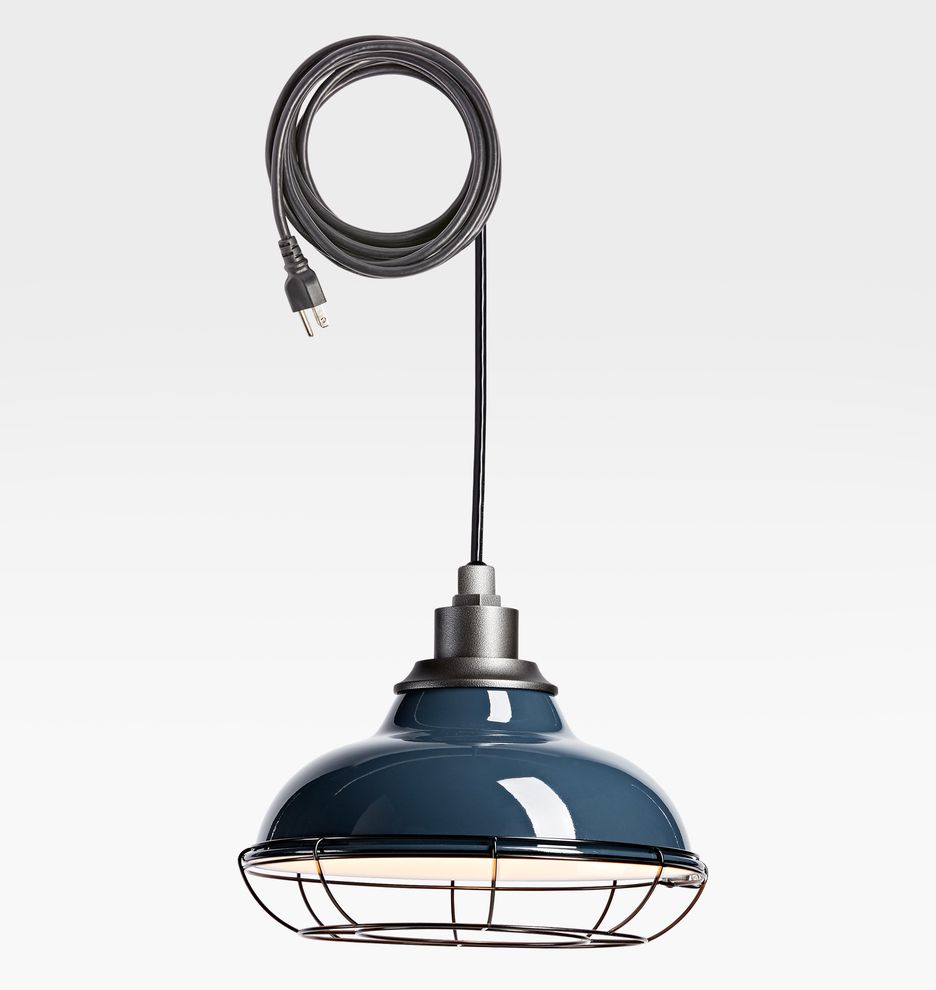 Carson 12 Plug In Indoor Outdoor Pendant With Cage In 2020 Outdoor Pendant Victorian Lighting Vintage Light Fixtures