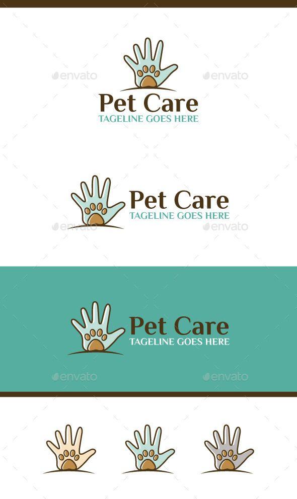 Pet Care Pet Logo Design Logo Inspiration Modern Pet Care