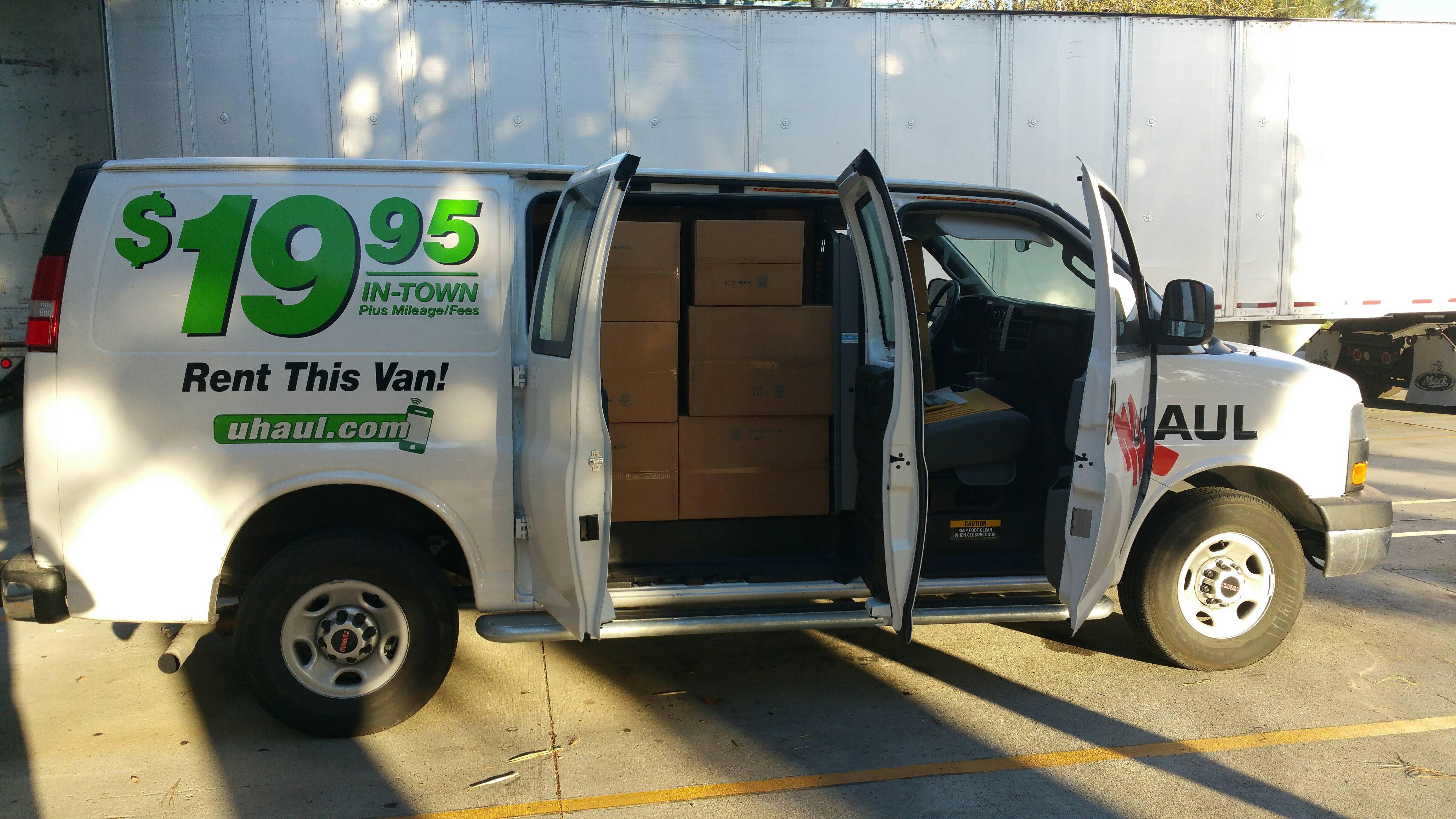 U Haul Cargo Van With Images Vans Cargo Van Haul