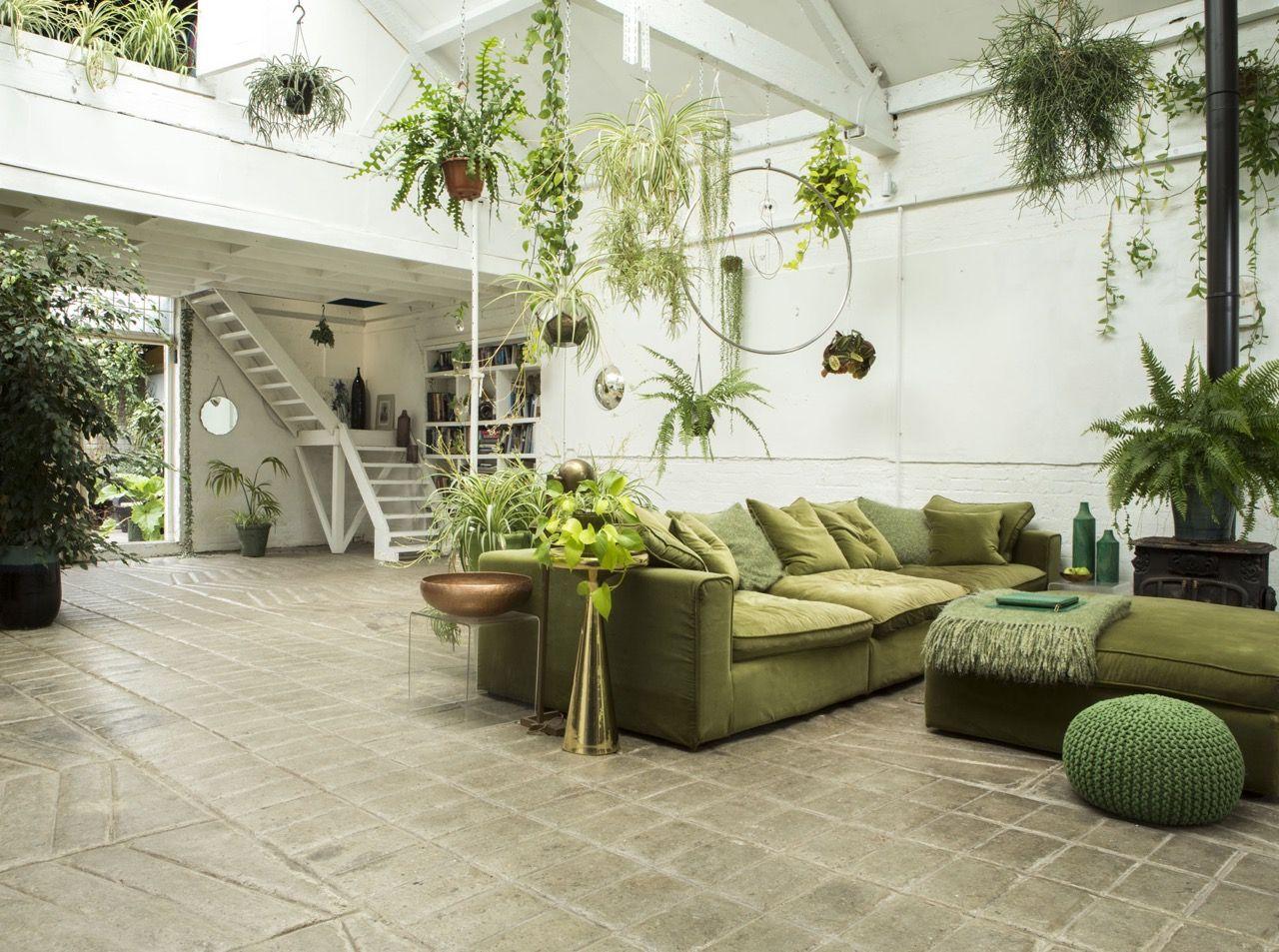 7 Amazing Interiors Inspired By Pantone 2017 Greenery Indoor PlantersPlants IndoorInterior Design BlogsIn LondonLiving