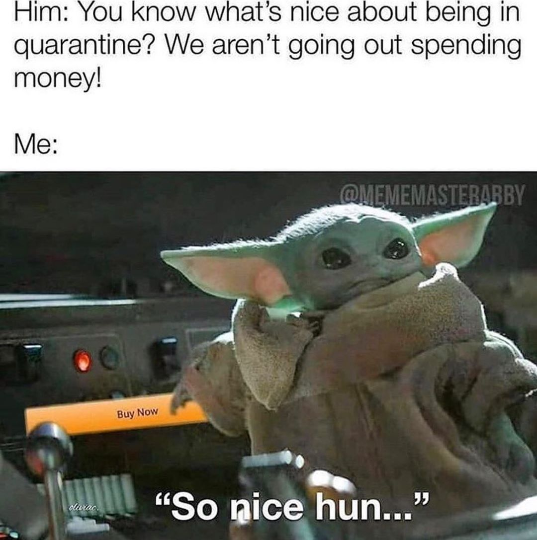 1 324 Likes 20 Comments Baby Yoda Babyyoda Official On Instagram Yoda Babyyoda Yoda Funny Yoda Meme Funny Star Wars Memes