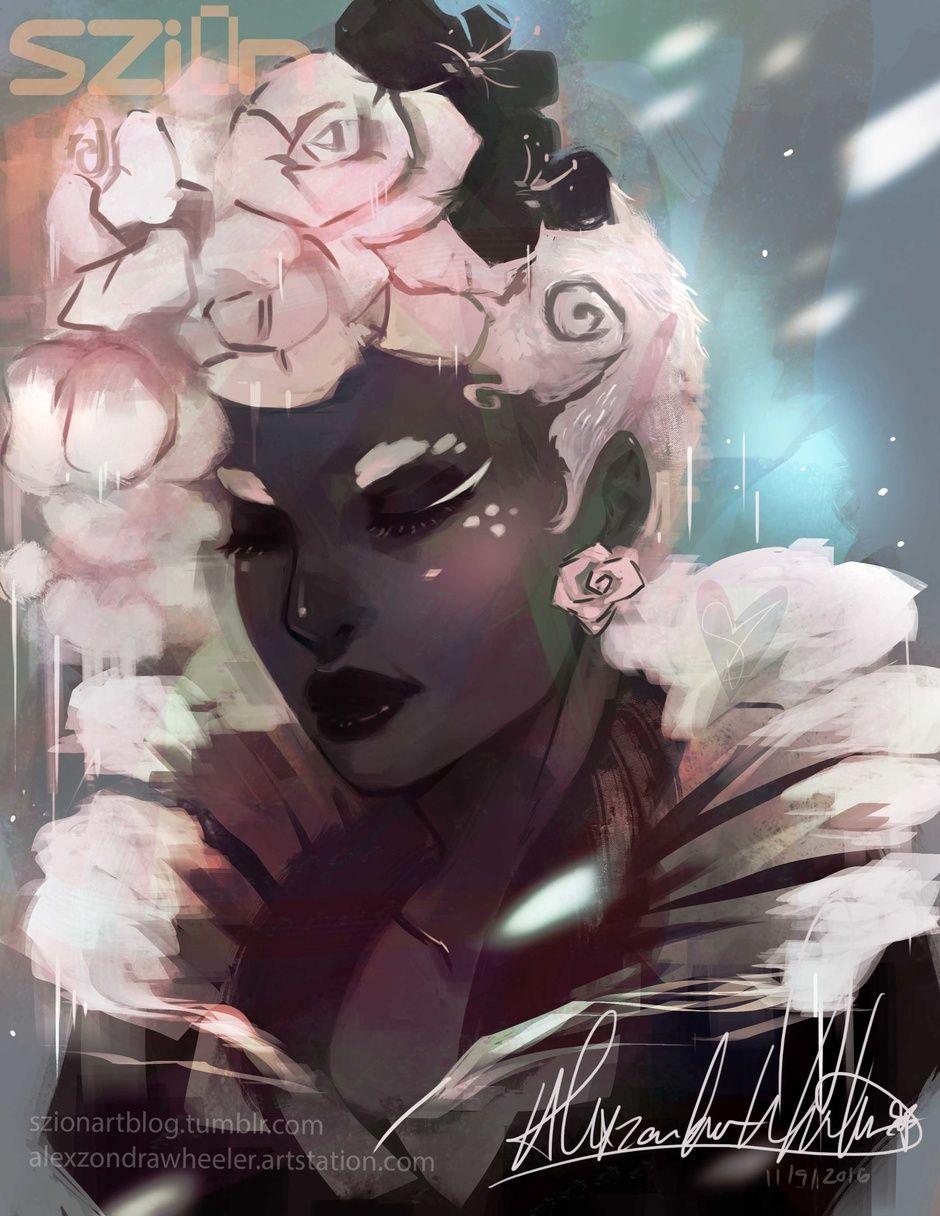 Melancholy by SZi0n | Illustration | 2D | CGSociety