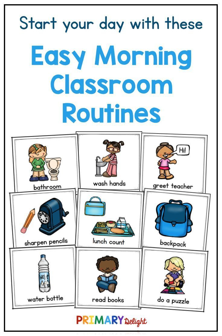 Classroom Morning Routines Help Fight Chaos! Classroom Morning Routines Help Fight Chaos!,