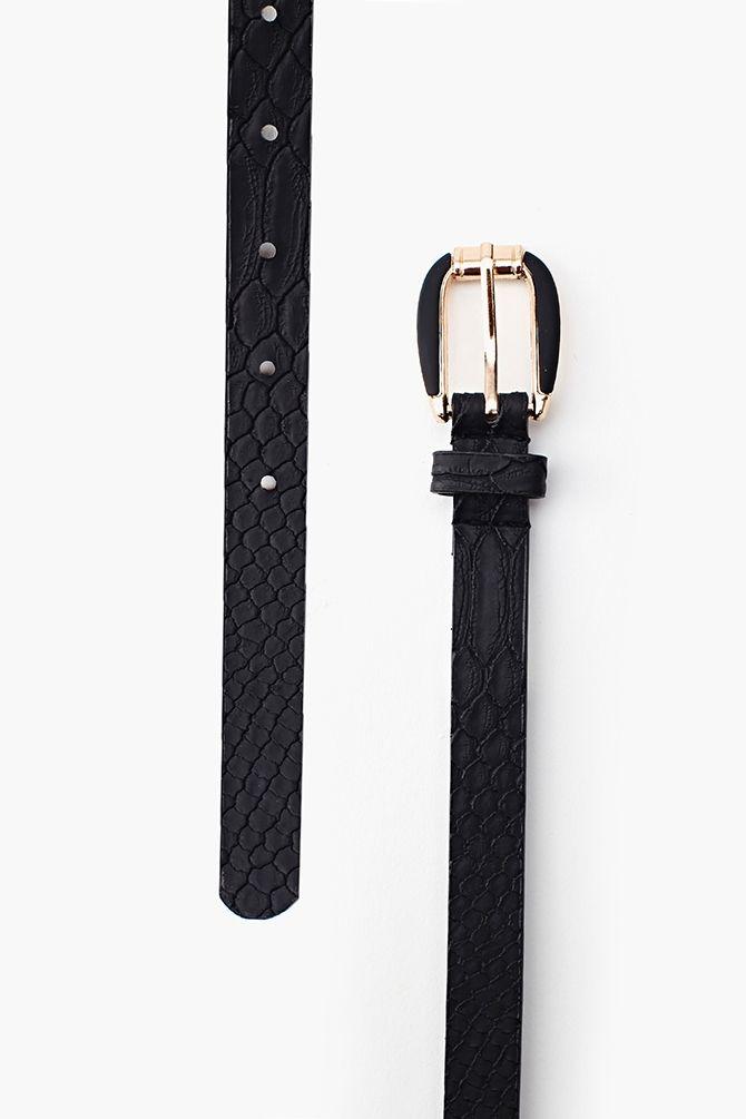 El cinturón negro