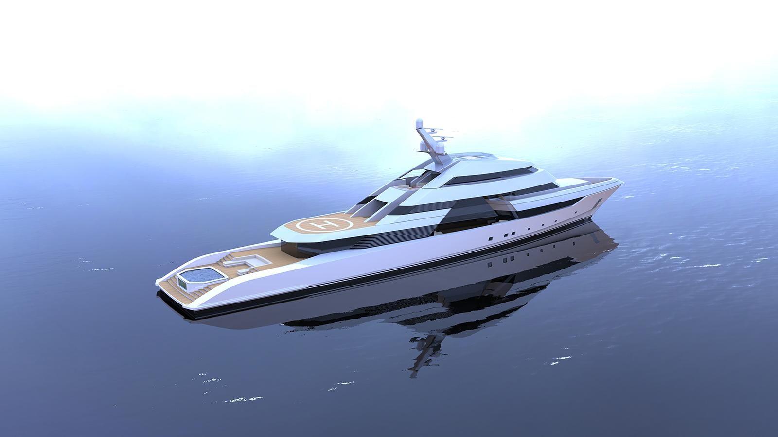 New 75m Focus yacht concept puts the spotlight on entertainment   Boat International