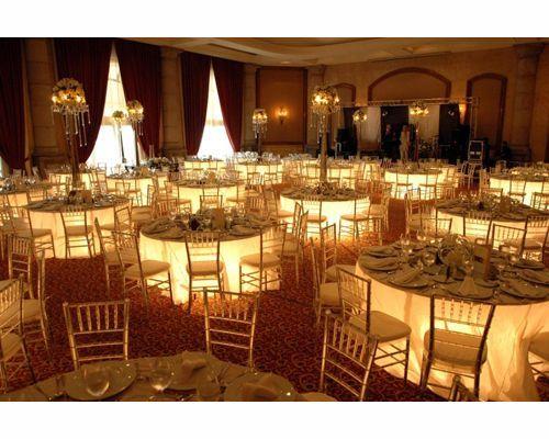 quinta real monterrey decoración para boda. las luces seria muy