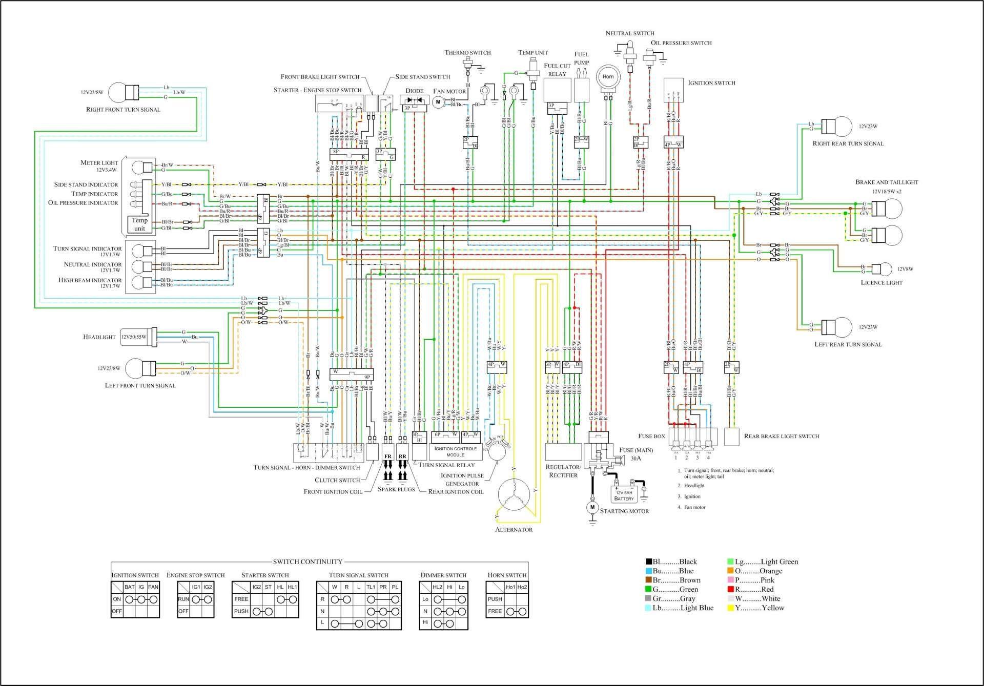 17 Suzuki Motorcycle Wiring Diagram Motorcycle Diagram Wiringg Net Motorcycle Wiring Electrical Diagram Electrical Wiring Diagram