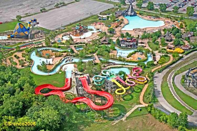 Hurricane Harbor In Six Flags Water Park St Louis Travel Usa