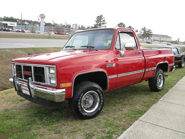 1987 Gmc 4x4 High Sierra Pickup 87 Chevy Truck Gmc Classic Gmc