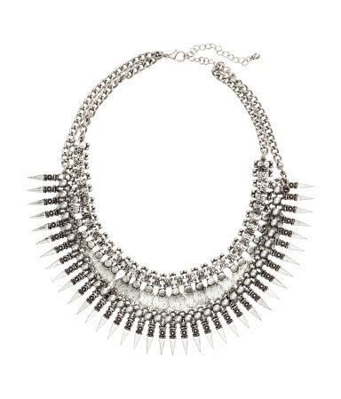 H & M Double Strand Necklace