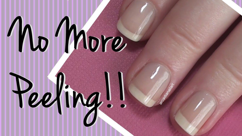 How I Fixed My Peeling Nails! Nail Care Video by ArcadiaNailArt ...