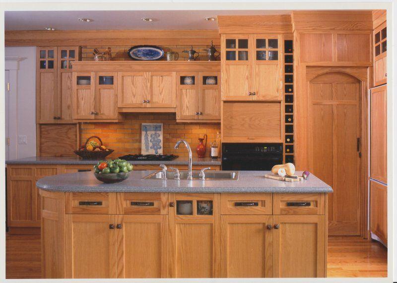 craftsman style kitchens | Craftsman Kitchen. Photo by Maggie Cole ...