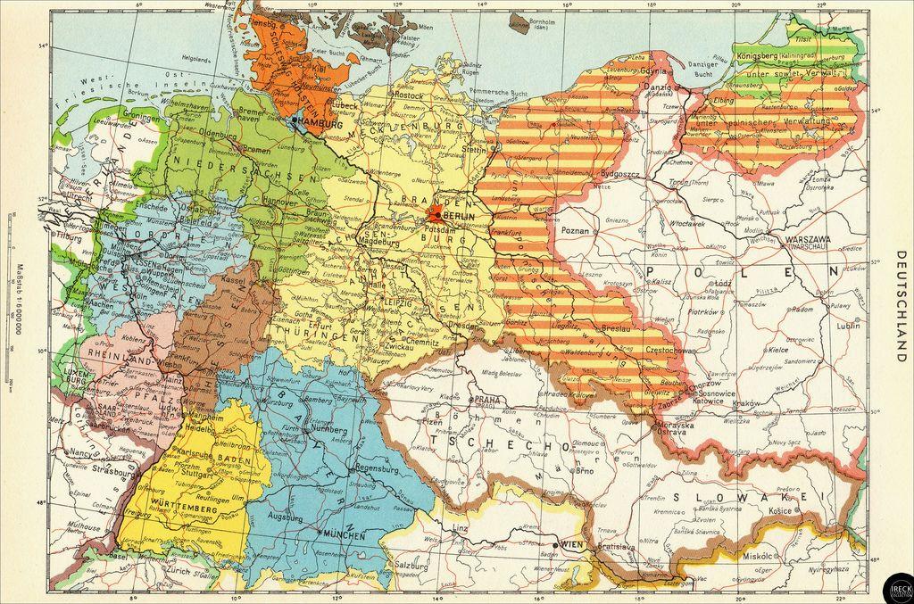 Teilung Deutschlands Nach 1945 Kopie Deutschland Nach 1945