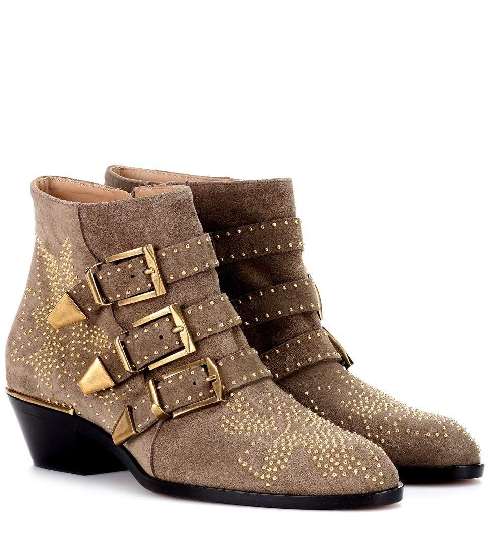 94def9fd2aca CHLOÉ Susanna Short Suede Ankle Boots.  chloé  shoes  boots
