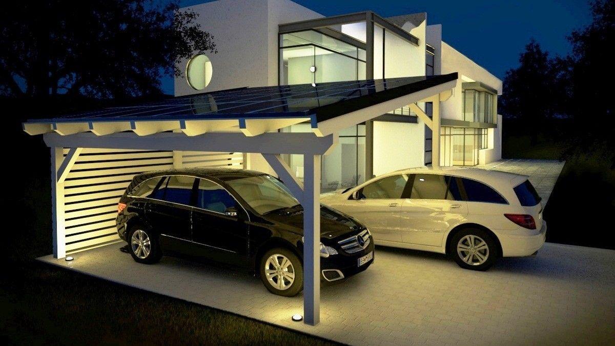 easycarport.de Carport designs, Modern carport, Solar